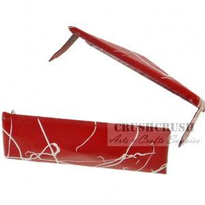 20pcs White and Red Rectangle Pyram..