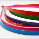 12pcs 5mm Colors Metal headbands wi..