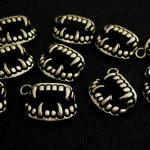 20pcs Antique Brass Vampire Teeth F..