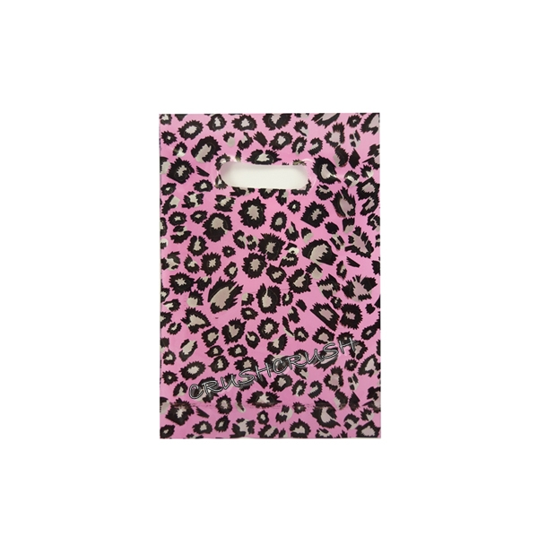 40pcs Pink LEOPARD Animal PrintPlastic Bags for Gifts Cute G13