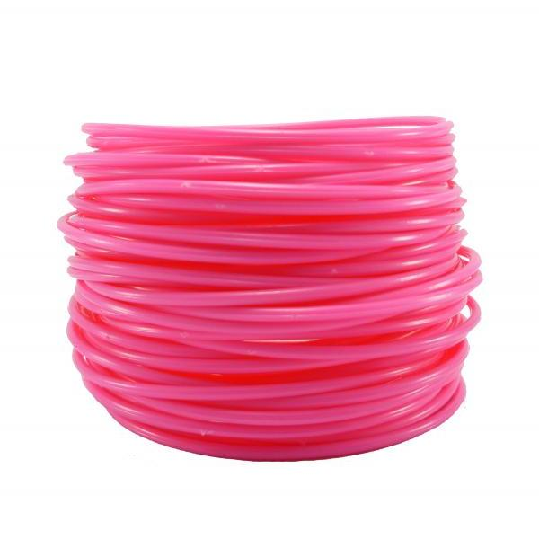 FREE SHIPPING 30 GUMMY Bands Bracelet Shocking Pink Plastic Gummies A71